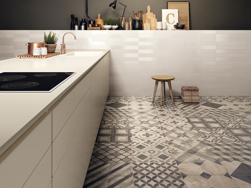 Keuken En Badkamer : Keuken vemotech tegels